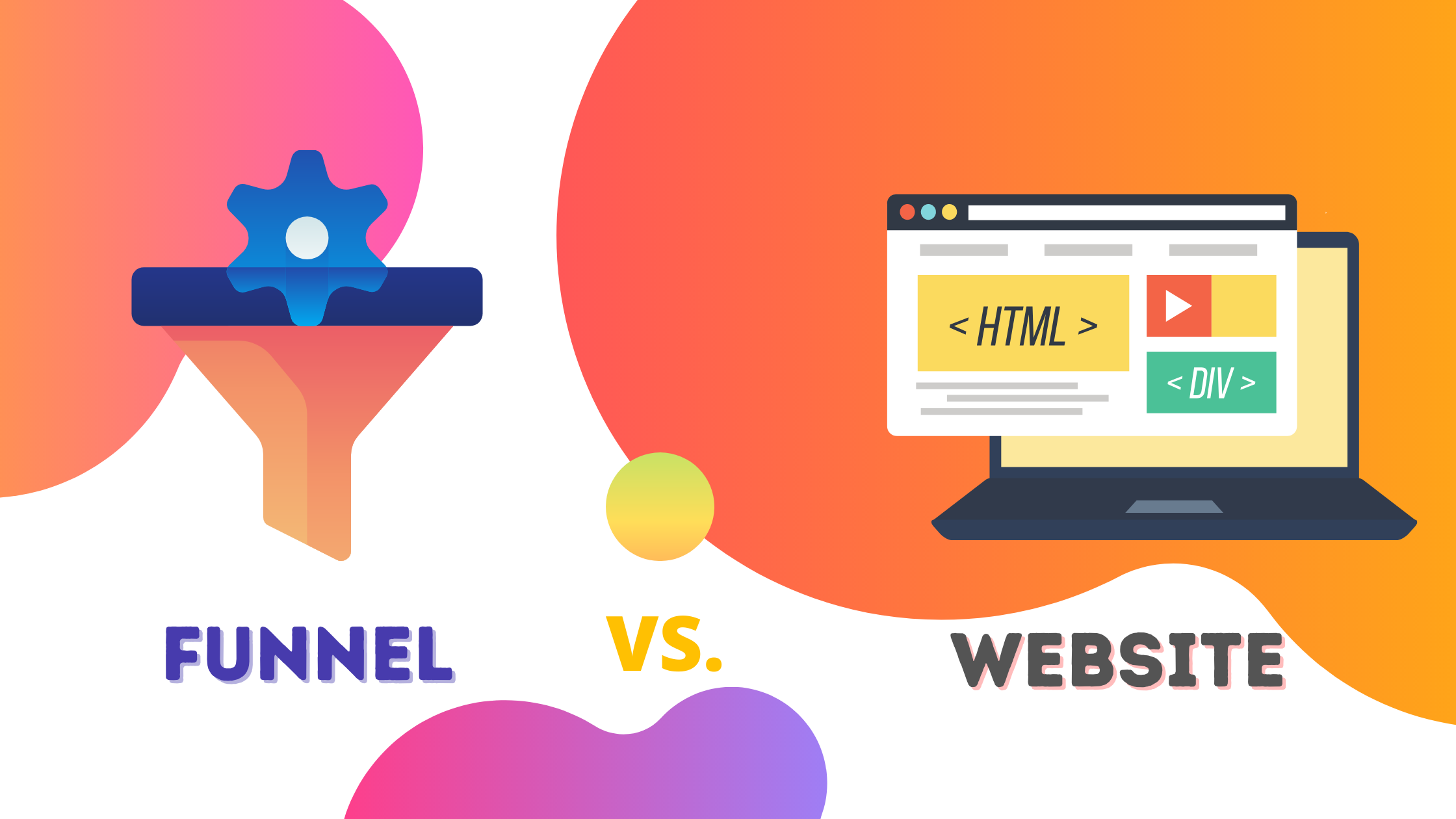 Difference between Funnels and Websites